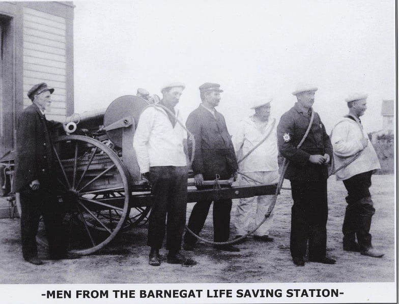 LBI Thursday Throwback from the Barnegat Life Saving Station! . . Stop in and see us…