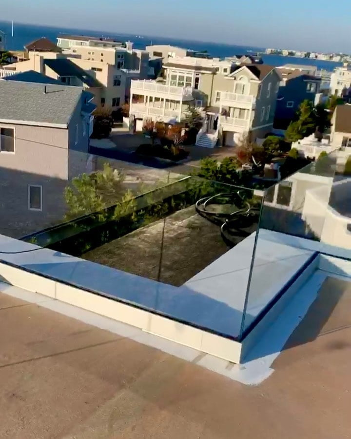 LBI What a view!!! Don't let your railings get in the way of seeing clearly!!!   by …