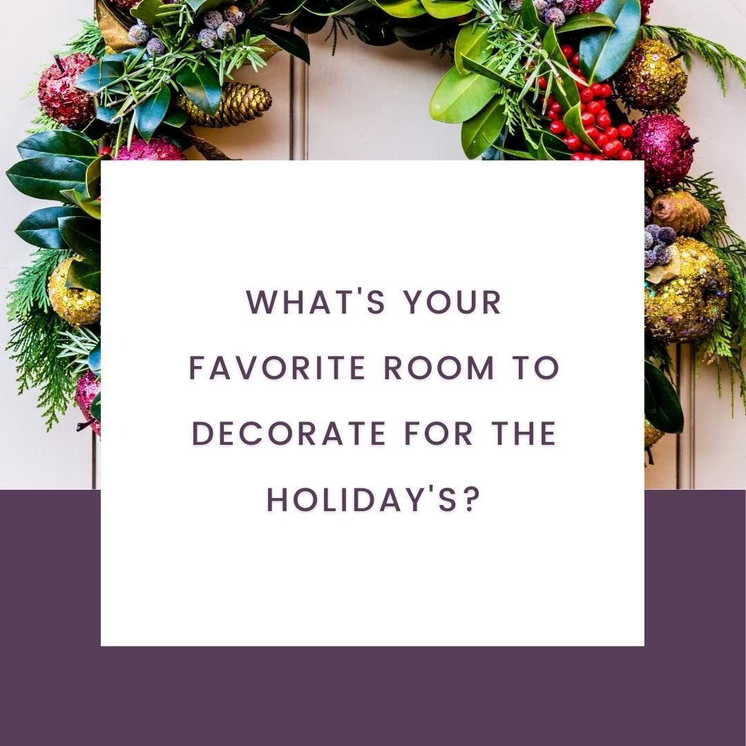 LBI What's your favorite room to decorate for the holidays?…