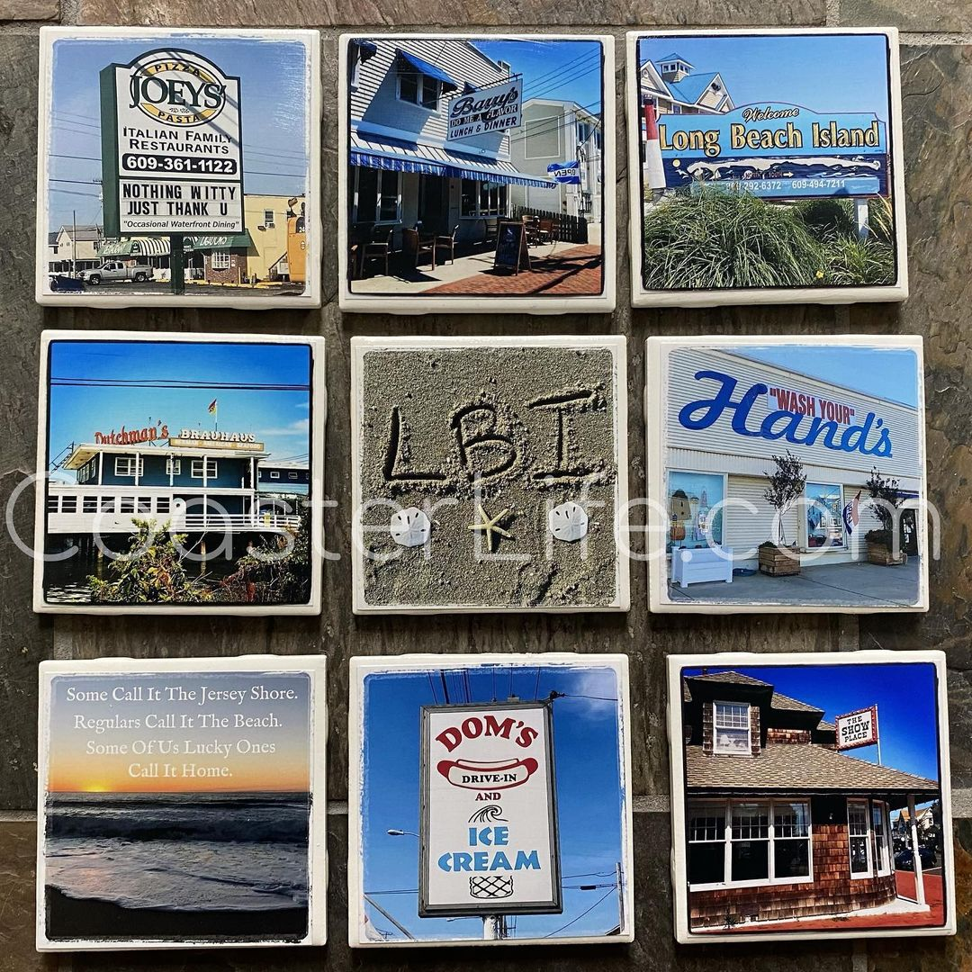LBI Who loves   CoasterLife.com has 100+ designs of hot spots around the island.    …