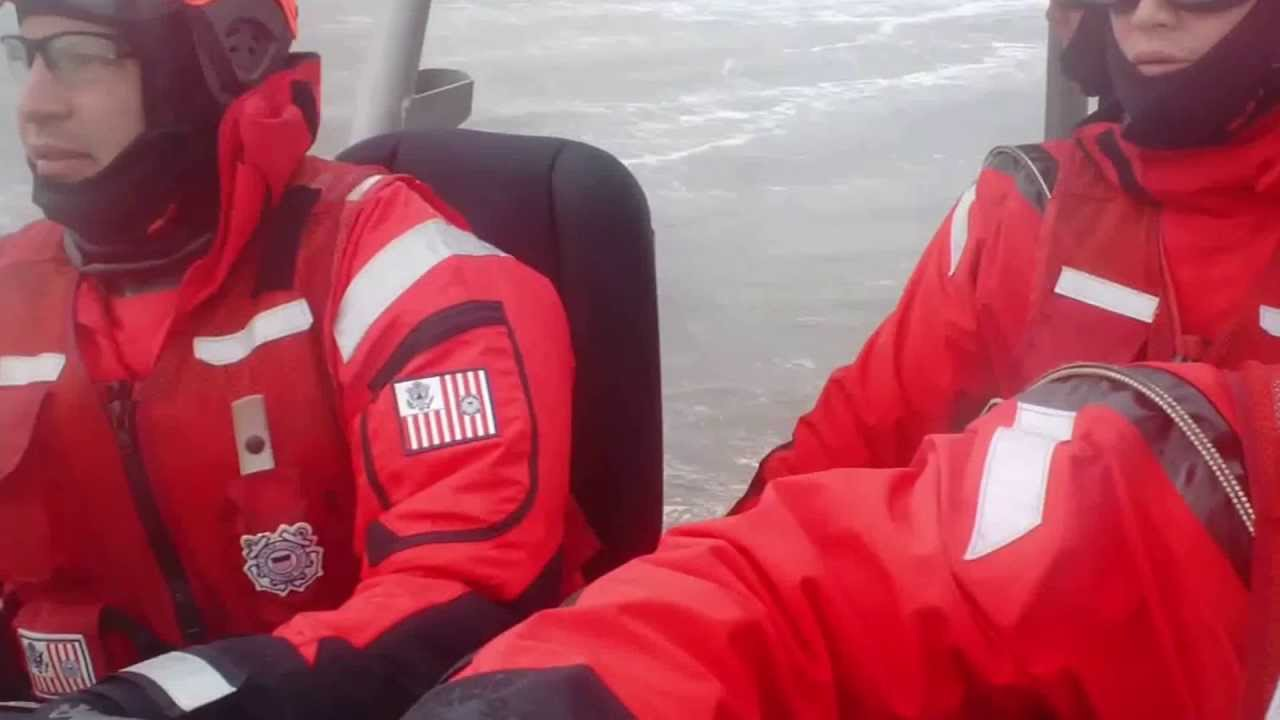 Read more about the article U.S. Coast Guard Station Barnegat Light: Heavy Weather Training 720 #LBI