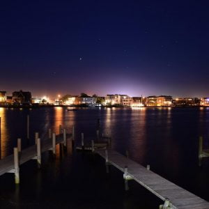 Read more about the article LBI Ship Bottom NJ Bay at Night   …