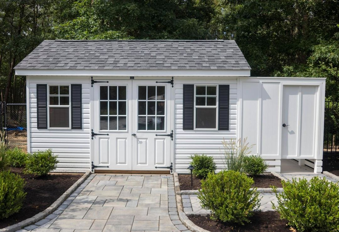 LBI An outdoor shed is the perfect place to store backyard items, pool supplies, and…