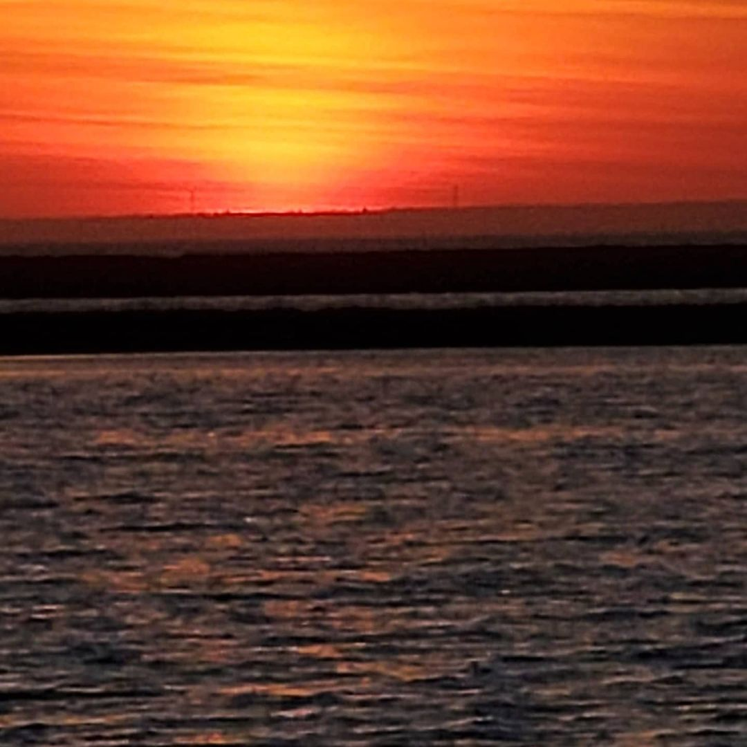 LBI Beautiful November sunset        …