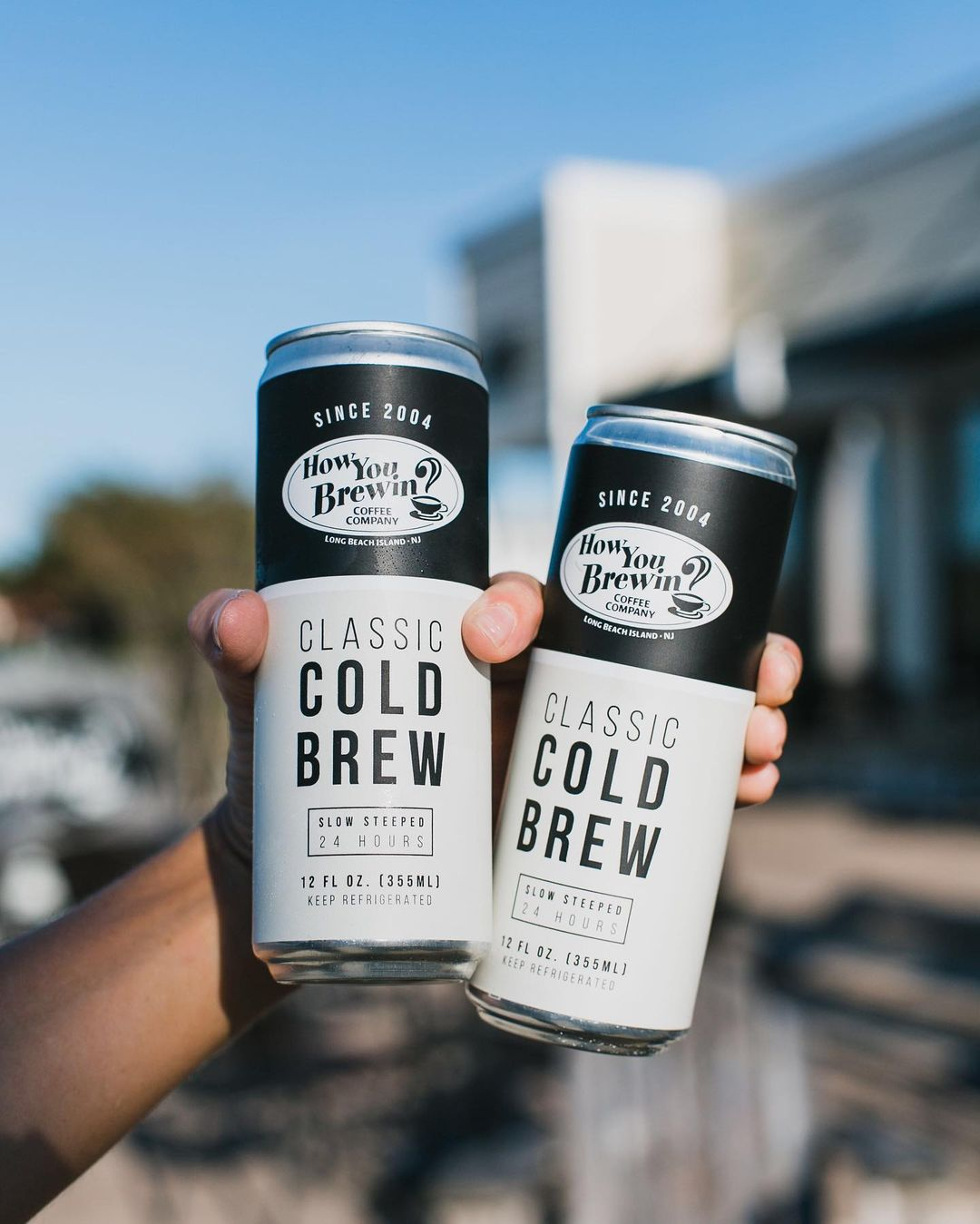 Read more about the article LBI Black Friday shopping? Fuel up with our classic cold brew, canned for your on-th…