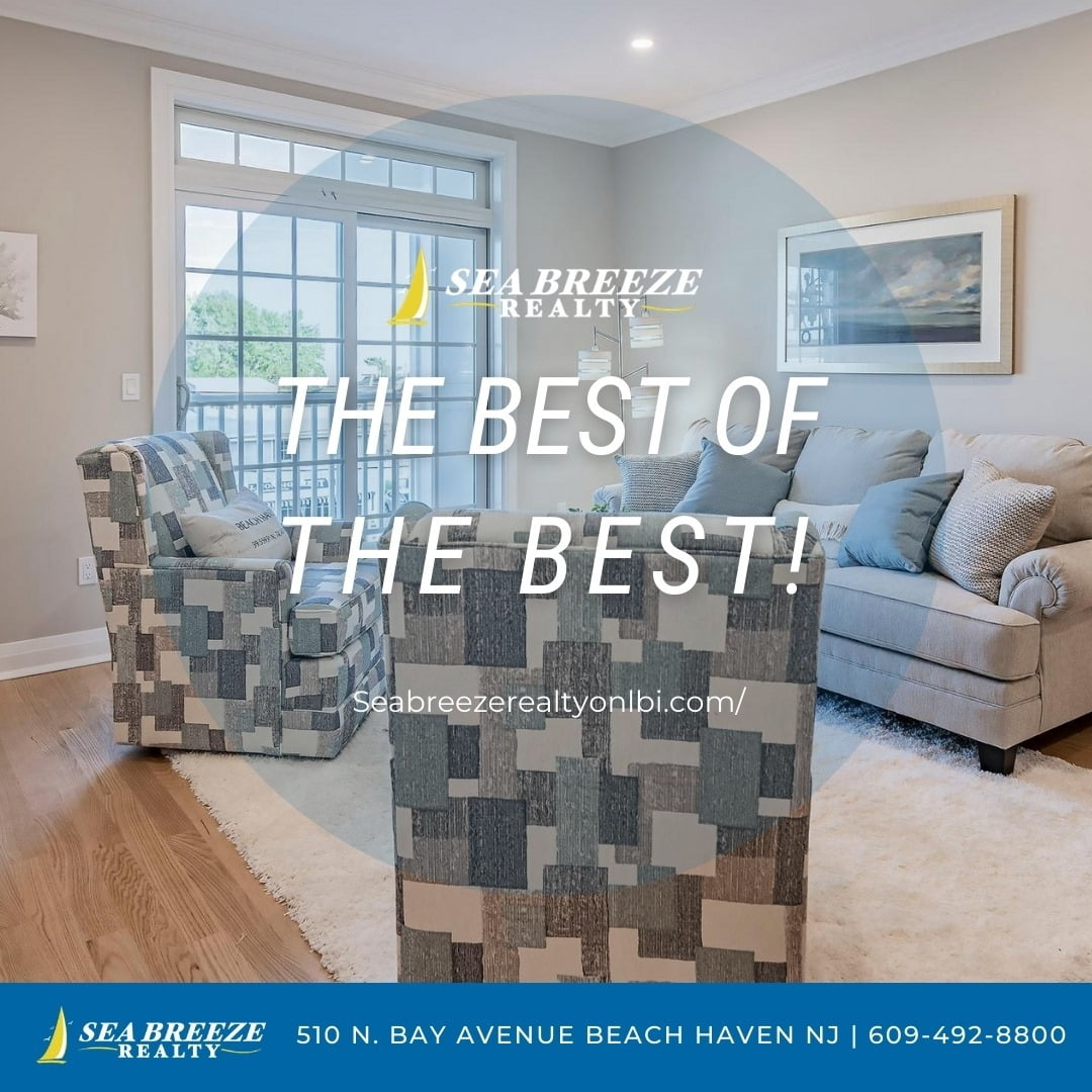 LBI Call now and see why Seabreeze Realty is the best of the best! 609-492-8800 •   …