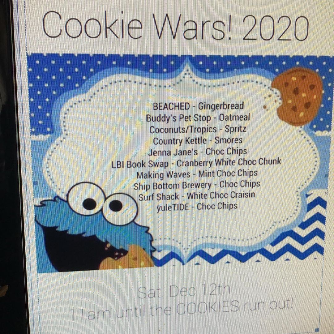 LBI Cookie Wars 2020!!! Try them all & Vote for your Favorite!!!     …