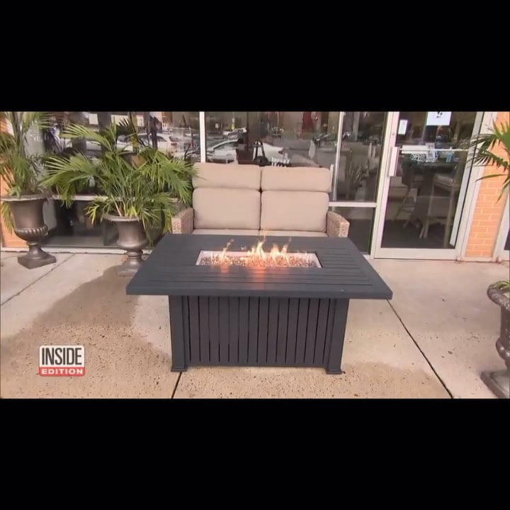 Read more about the article LBI For fire tables were showcased on inside edition this week! Come check them out!…