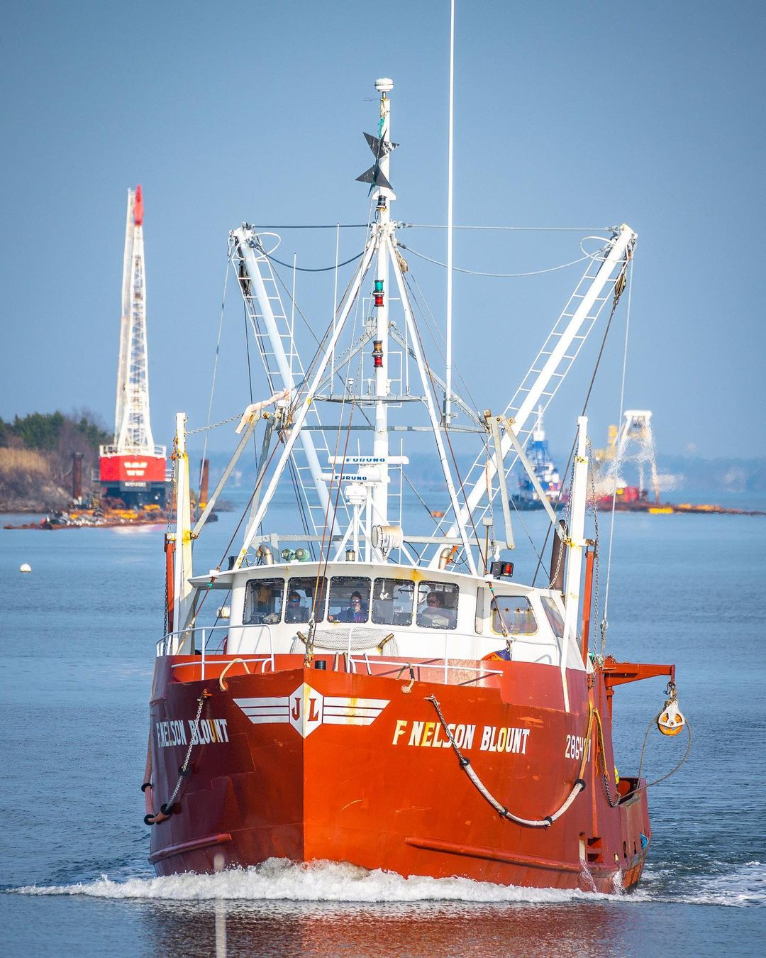 Read more about the article LBI Front & Center.  . . . : F/V F. Nelson Blount . . .                             …