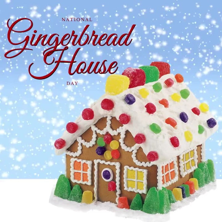 LBI It's National Gingerbread House Day!  If you live in Stafford Twp, NJ (aka Manah…