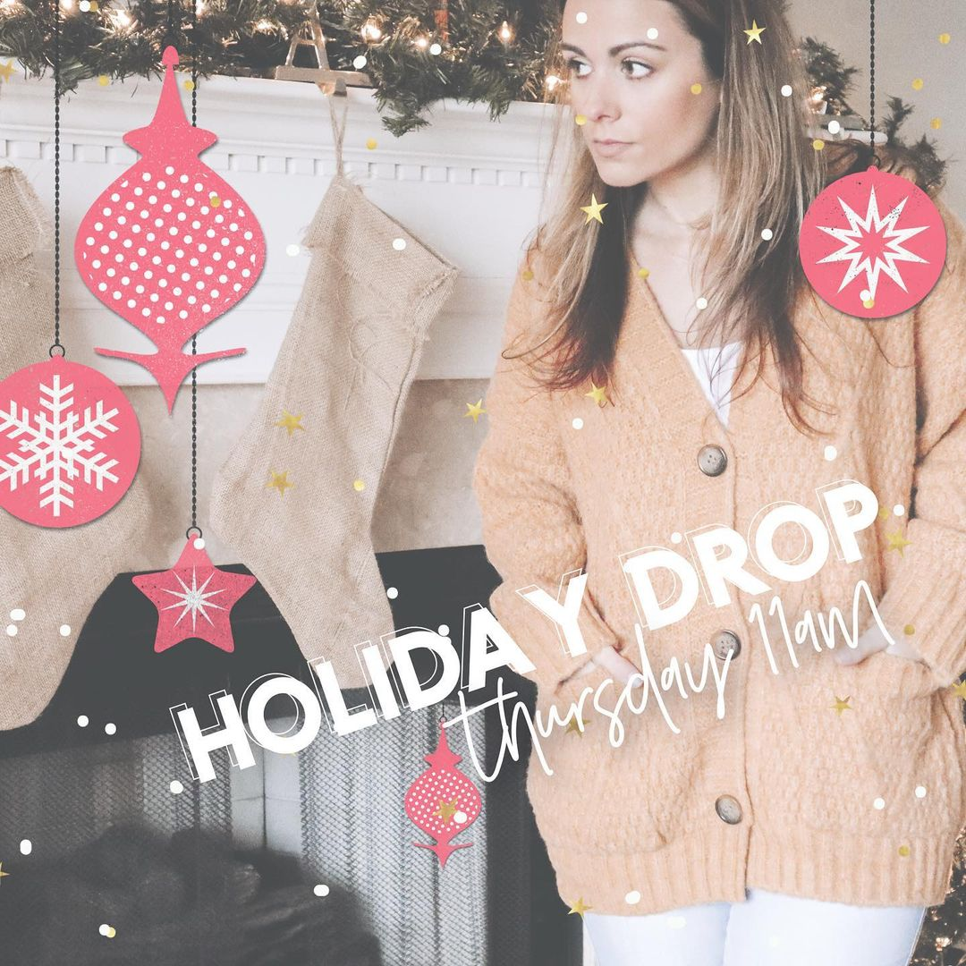LBI  It's the most wonderful time of the year  New Arrivals drop tomorrow!…