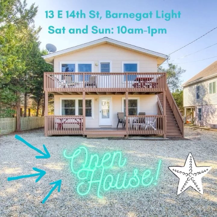 LBI Open House this Saturday and Sunday from 10am-1pm at 13 e 14th st, Barnegat Ligh…