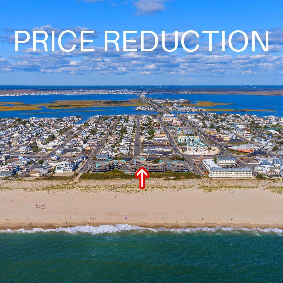 LBI PRICE REDUCTION   $719,000  $695,000  901 Ocean Ave  Ship Bottom, NJ 08008  With…