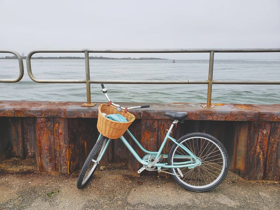"""LBI Posting this pic while I take a """"water break"""" //   Riding my bike all over the i…"""