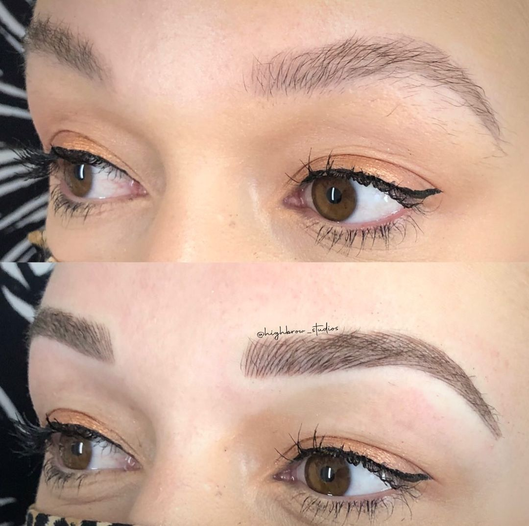 LBI Pretty, soft microblading for this brunette babe  .. .. – – –                   …
