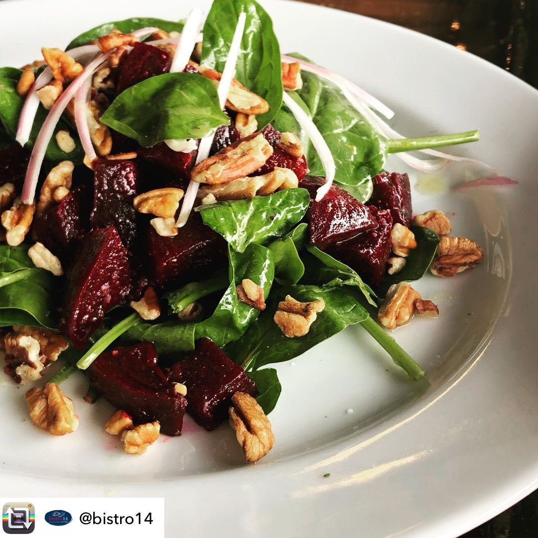 LBI  Repost from  using  – It is a Beautiful Day to enjoy our Beet Salad! Outside di…