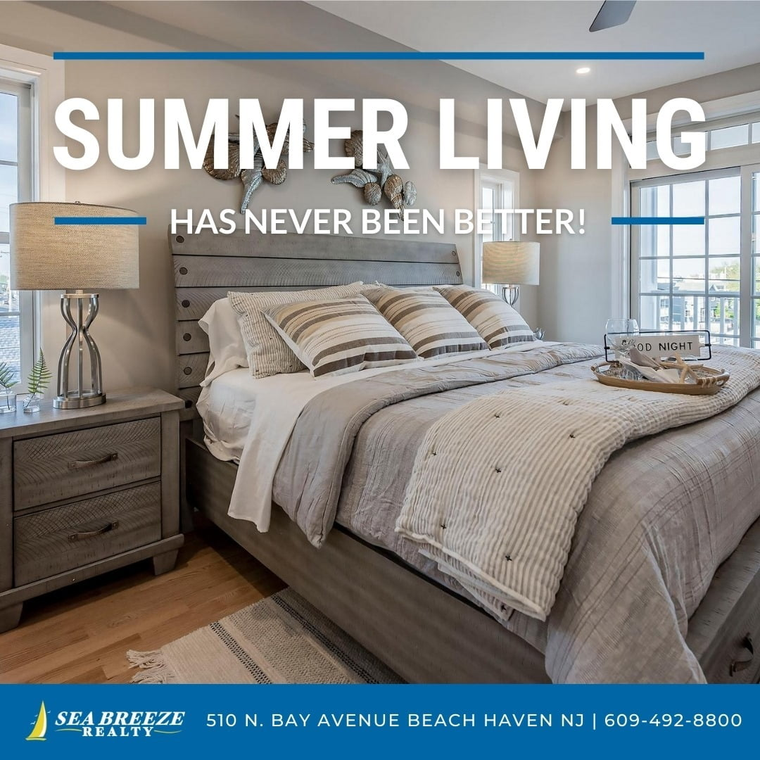 LBI Summer living has never been better! Call now: 609-492-8800 •                   …