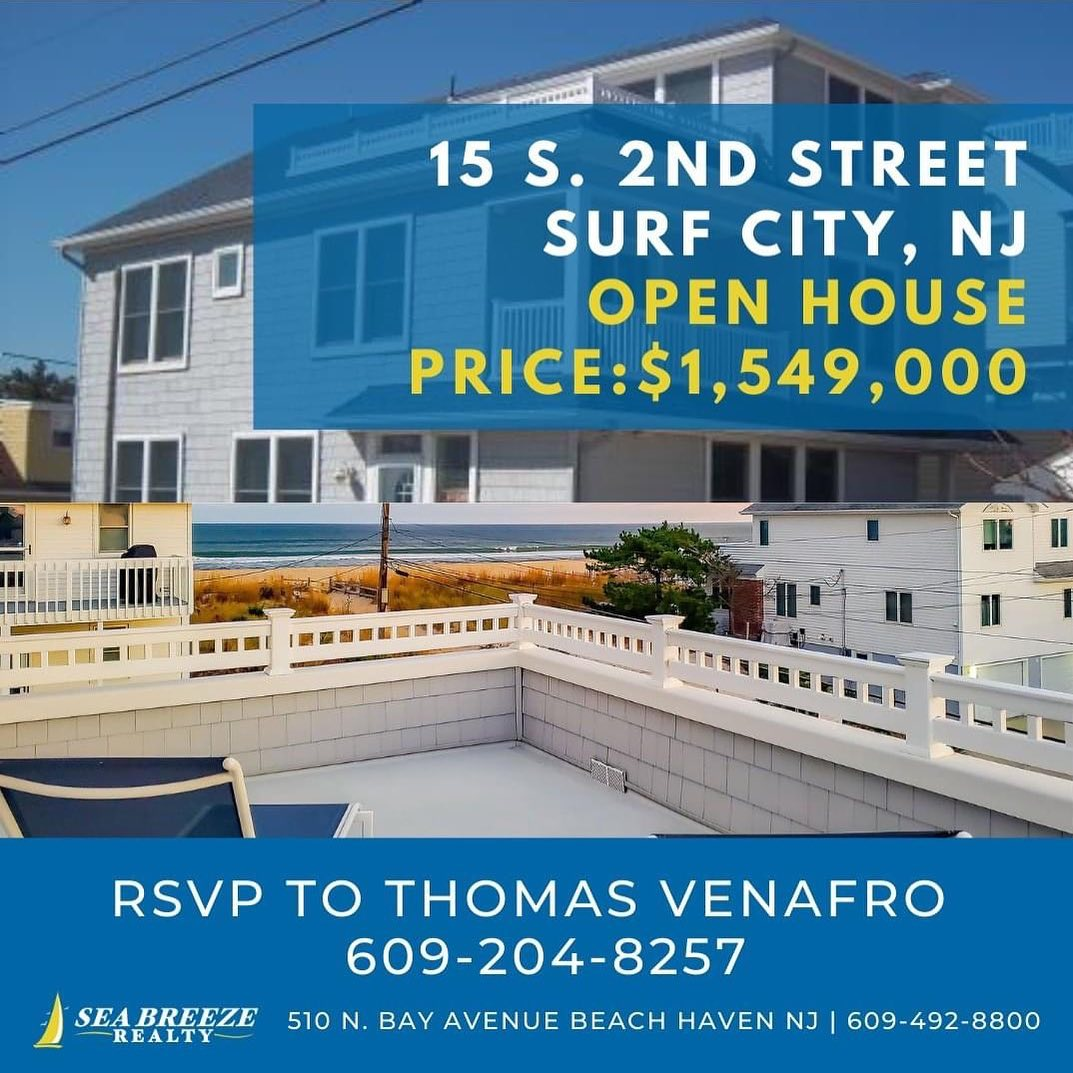 LBI Surf City Open House this Saturday 12/12/2020 from 11 AM – 3 PM. Come say Hi! Ca…