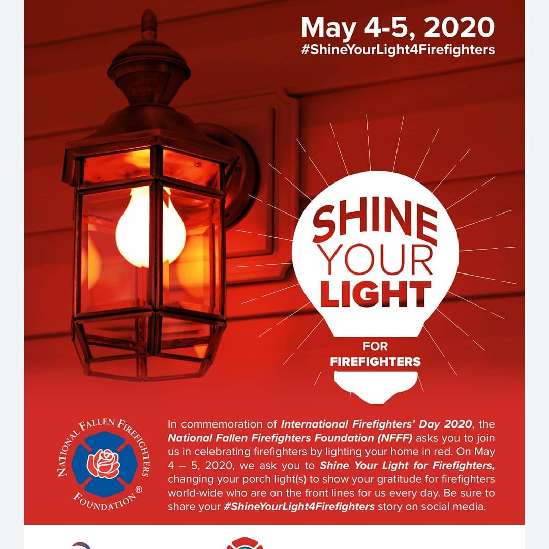 LBI Today is International Firefighters Day.  Tonight, light your house red to show …