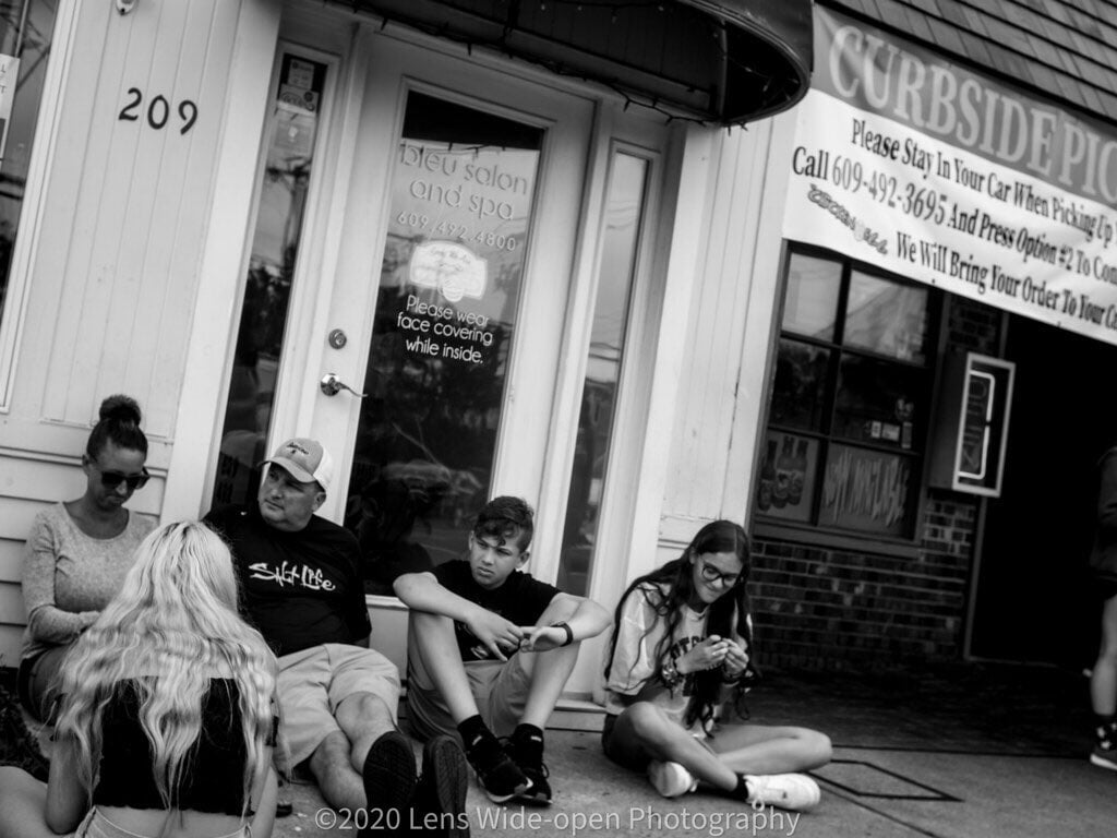 LBI Waiting In Line For a Table  Beach Day / Social Distancing Day 111, 07/04/2020, …