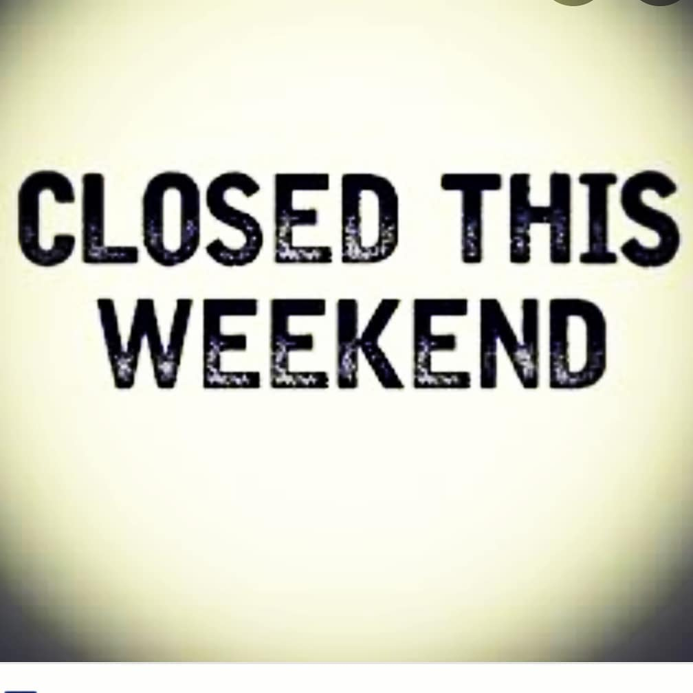LBI We are very sorry, but we will be closed this weekend, 11/28 & 11/29. We will be…