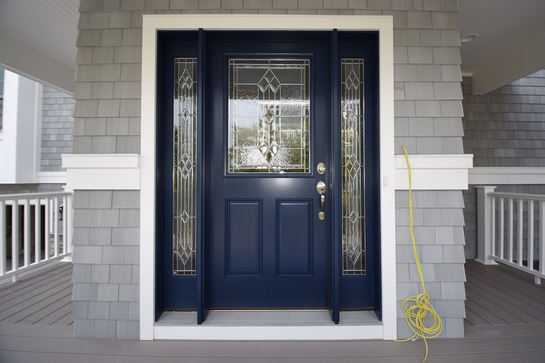 LBI Welcome to  How about this beautiful front door with sidelights?  Start your new…