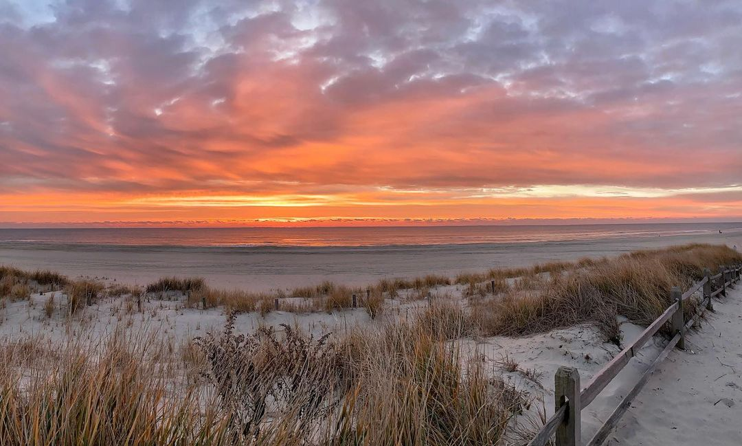 LBI What a glorious sunrise… • • •                       …