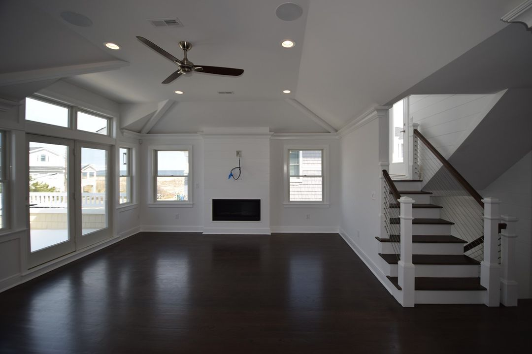 LBI  to a beautiful custom home on LBI we completed last year.  Call us to get start…
