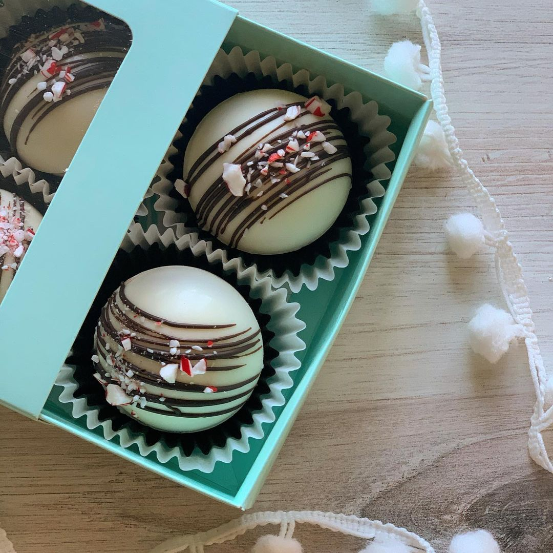 LBI yea, yea…  We went Minty Candy Cane here…because. 'Tis the season . Made w/ …