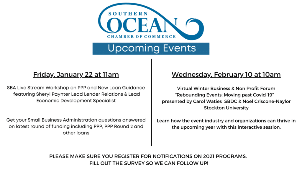 Save the Dates for Upcoming Chamber Events