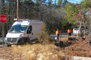 Route 9 Work for New Electric Poles Means Detour From Milepost 60 South