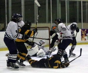 Slew of Career Firsts Propels Southern Ice Hockey Team to Victory Over Lacey