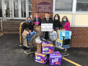 LBI Education Association Donates Much-Needed Items to St. Francis Food Pantry