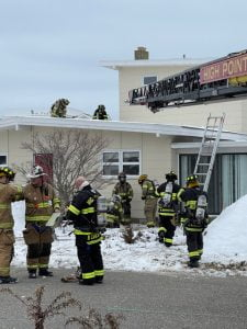 Firefighters Use Soon-to-Be Demolished Loveladies Home for Practice Drills