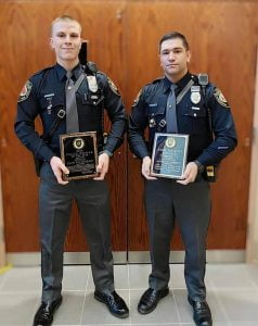 Stafford Patrolmen Recognized for Excellence