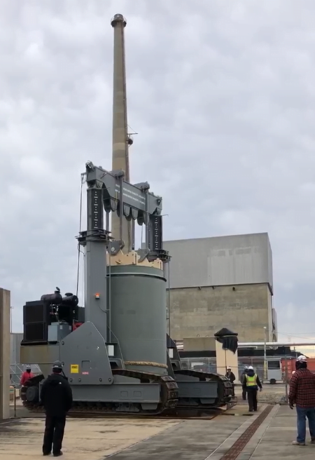 Read more about the article Oyster Creek Generating Station Spent Nuclear Fuel Moved to Dry Storage