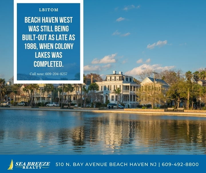 Read more about the article LBI Beach Haven West was still being built out as late as 1986, when colony lakes wa…