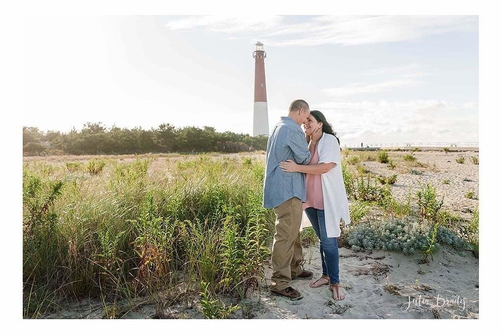 LBI Beautiful portraits at the lighthouse. Perfect moment.  www.juliabradyphoto.com …