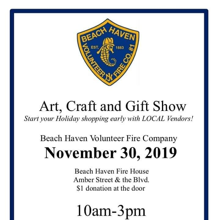 LBI Craft Show HAPPENING NOW! AT Our Firehouse. Amber st. and Bay Ave.  Come on by, …