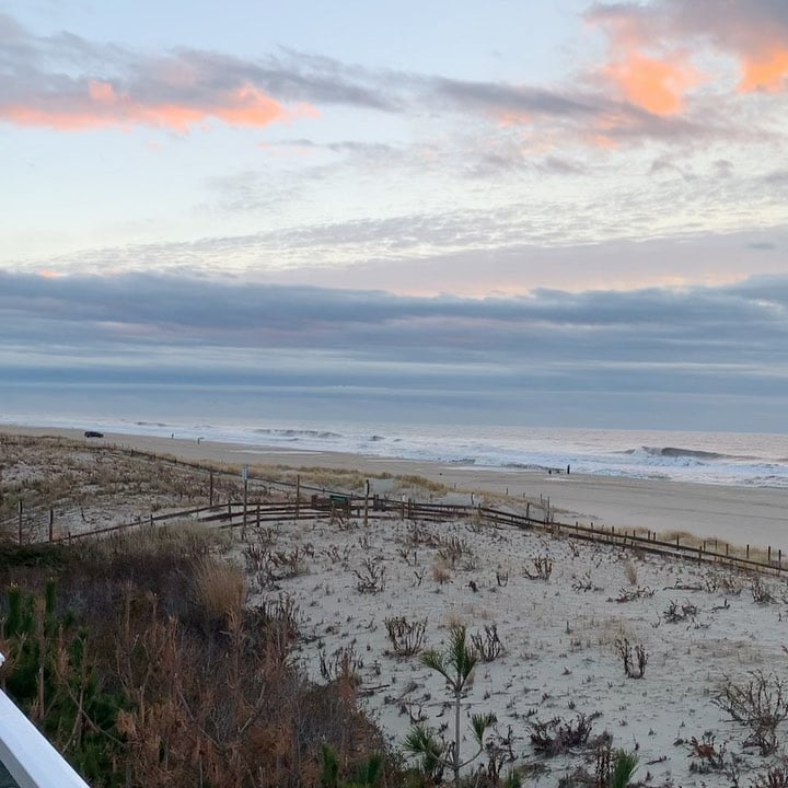 LBI Good morning December  No filter necessary for this beautiful cloudy sunrise fro…