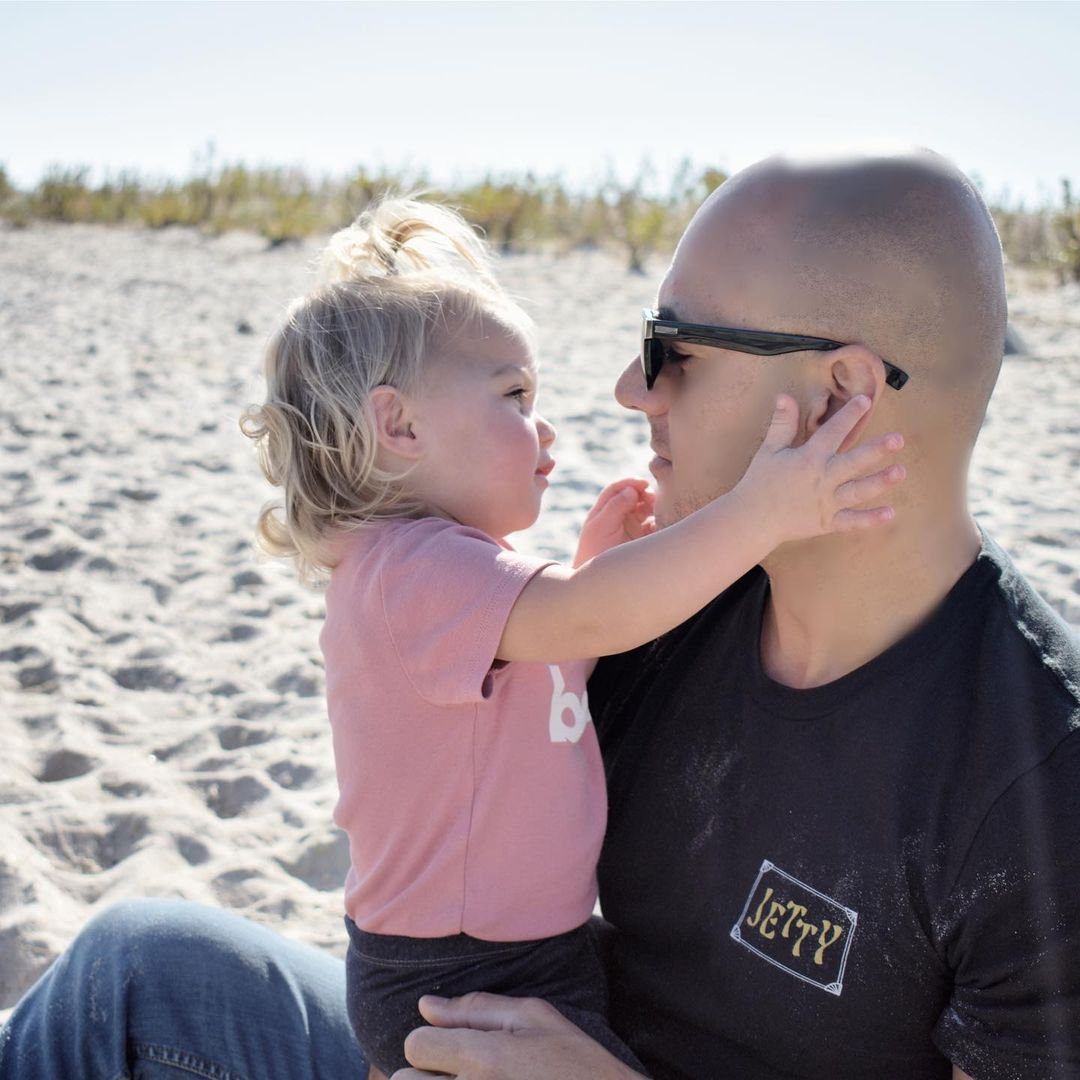 LBI Just Me and my Daddy. He has my heart     …