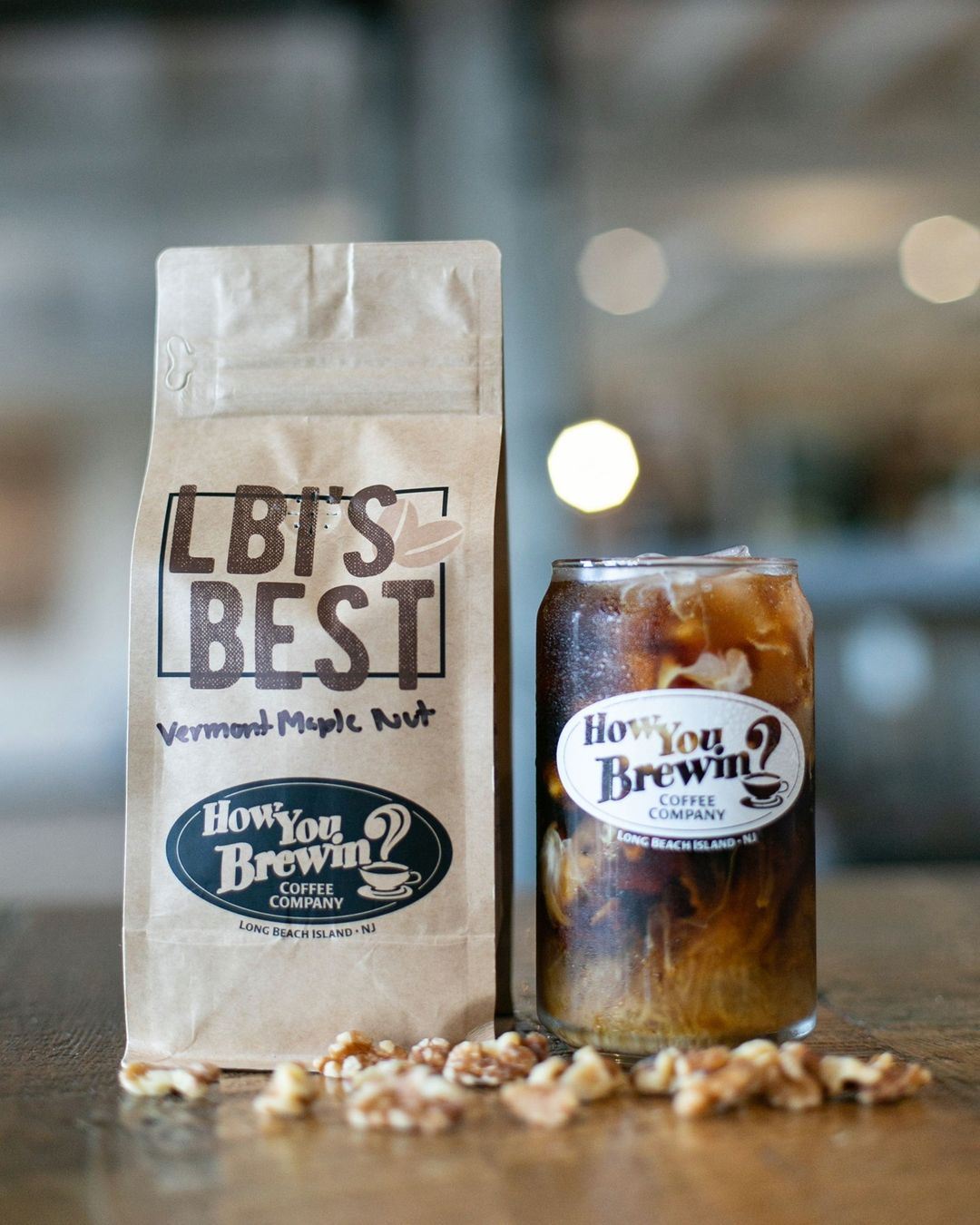 LBI  NEW FLAVOR ALERT  Our Vermont Maple Nut cold brew is a delicious, refreshing, a…