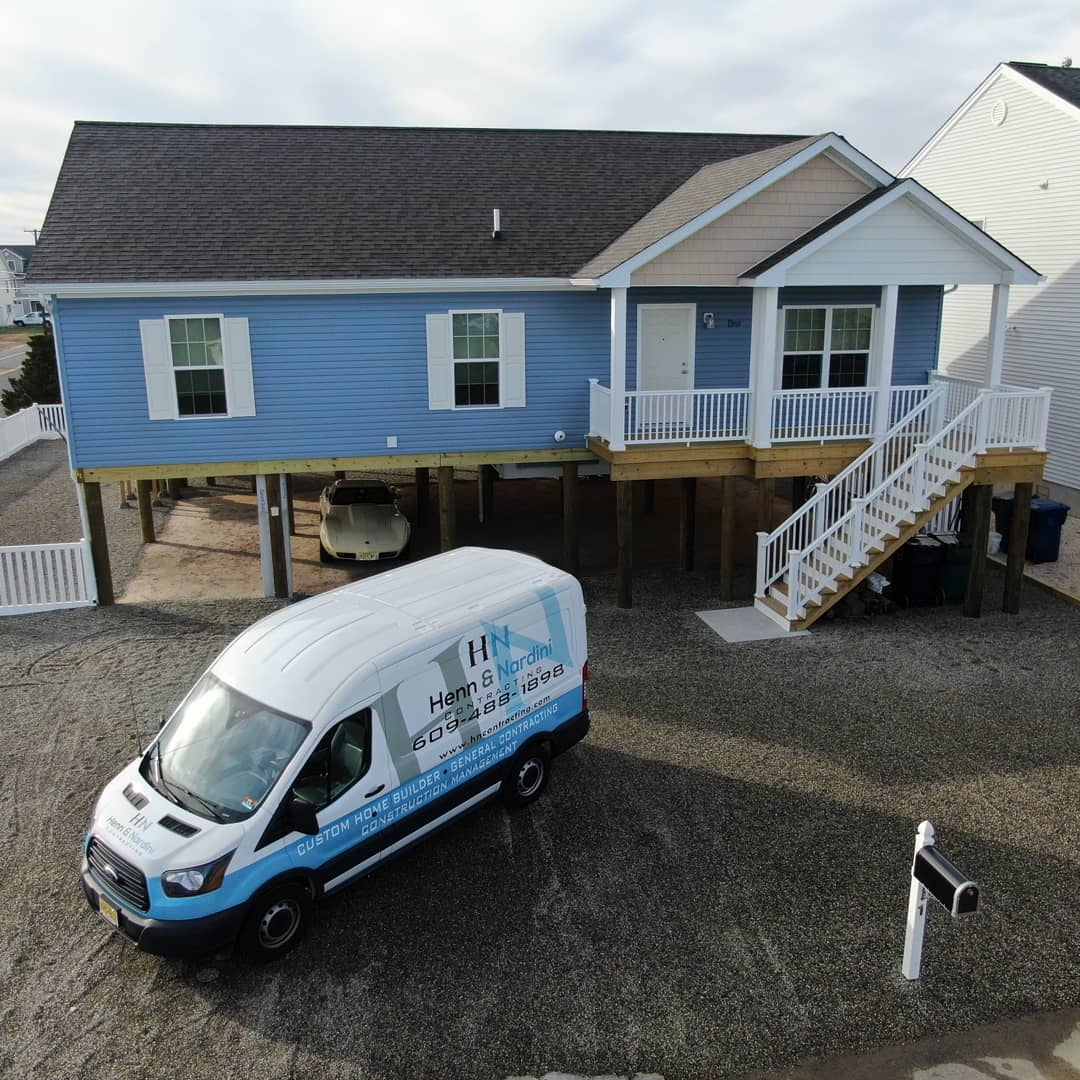 LBI New Home in Mystic Island Little Egg Harbor completed!             
