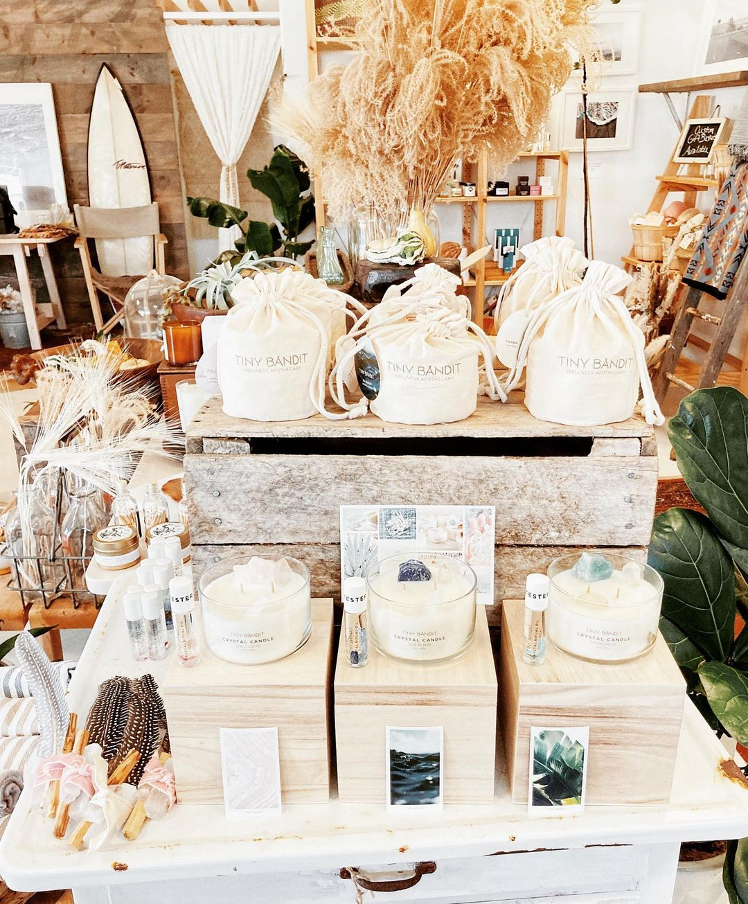 LBI New to the Bungalow!  So excited to be carrying  a beautiful wellness collection…