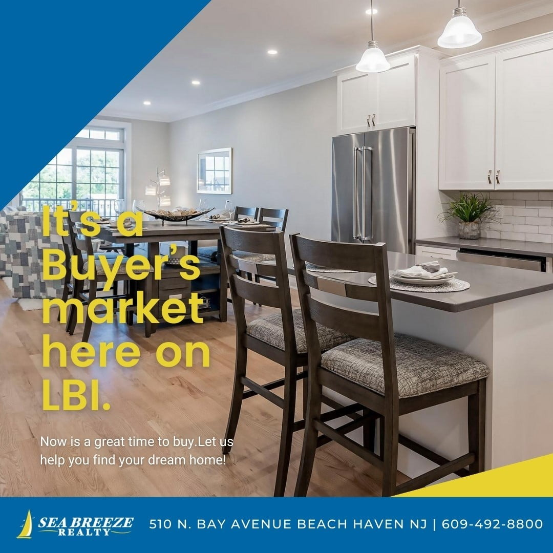 LBI Now is the perfect time to buy. Call now: 609-492-8800 •                        …