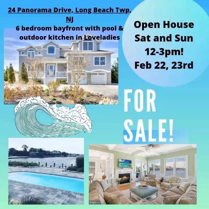 LBI Open House with Beach House Realty this weekend both Saturday and Sunday from 12…