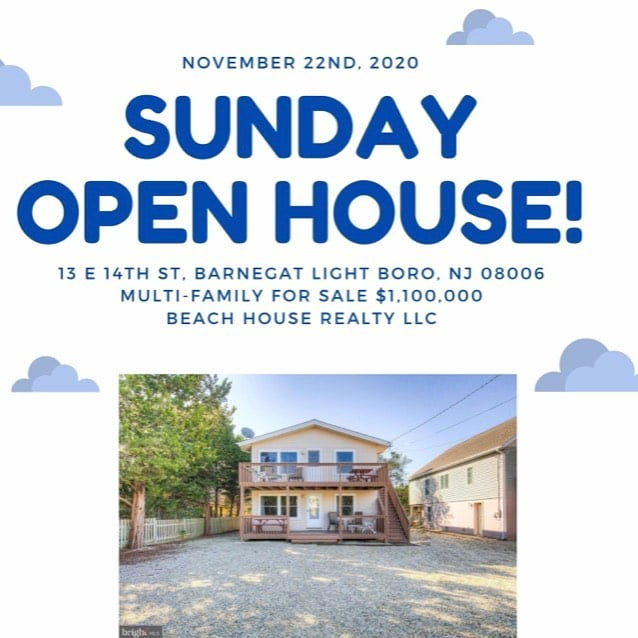 LBI Open house this Sunday from 10-1pm at this Barnegat light 3rd from the beach hou…