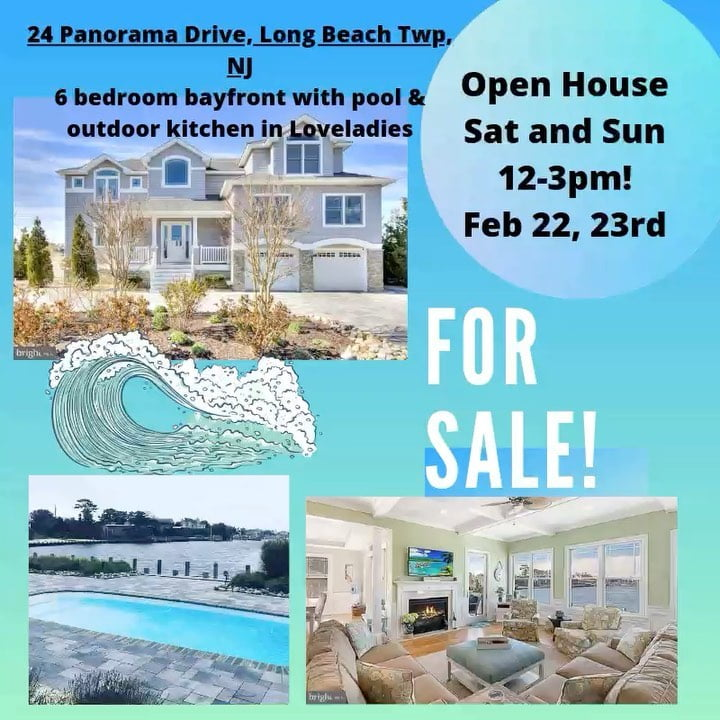 LBI Open house with Beach House Realty on LBI this Saturday and Sunday from 12-3pm a…