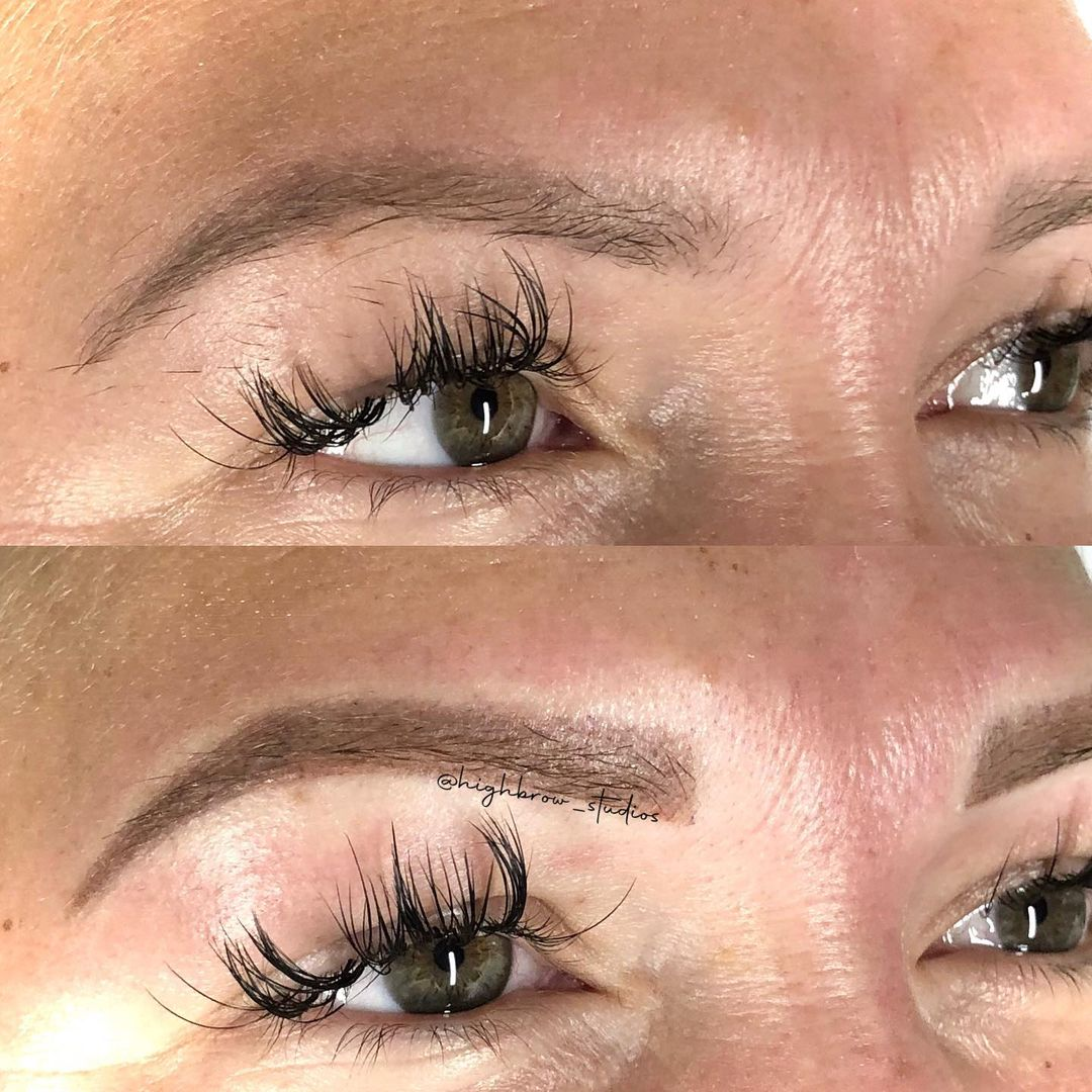 LBI Pretty powdery blonde coverup over faded microblading.. .. – – –                …