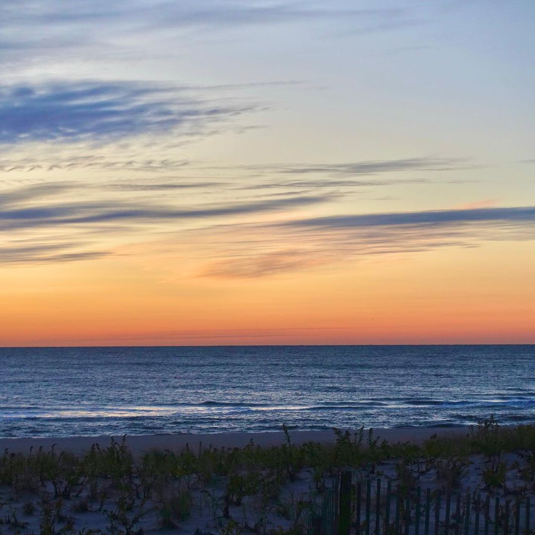 LBI Sunrise at  Anything can happen today.     …